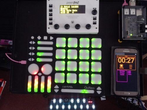 Small synth setup